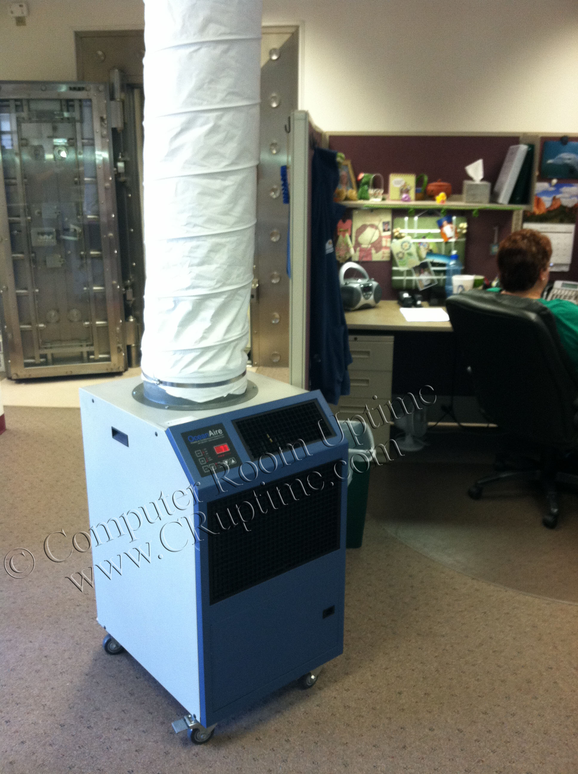 Portable Air Conditioning Rentals Office Environments