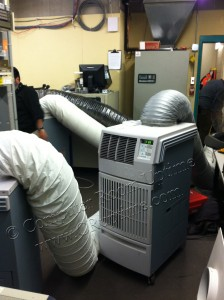 Casino Server Room Cooling - 2 Ton Portable Air Conditioner